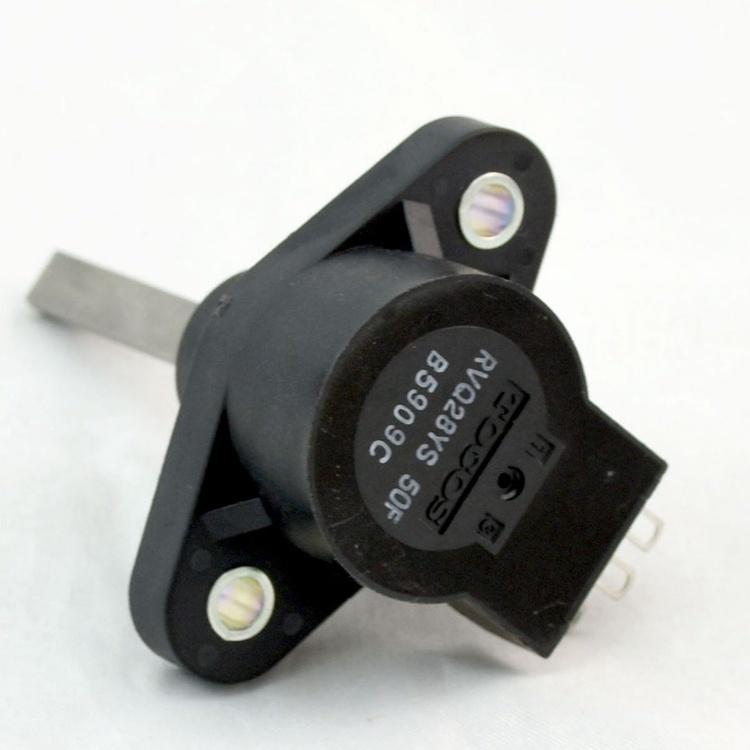 5kohm Throttle Potentiometer Throttle Pot for Mobility Scooter Throttle Control Pot 2 Million Cycles Long Life Shaft Length 25/30/50mm