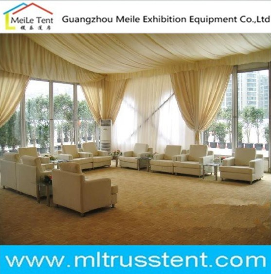 Nice Decoration Glass Tent Big Event Marquee for Meeting Room