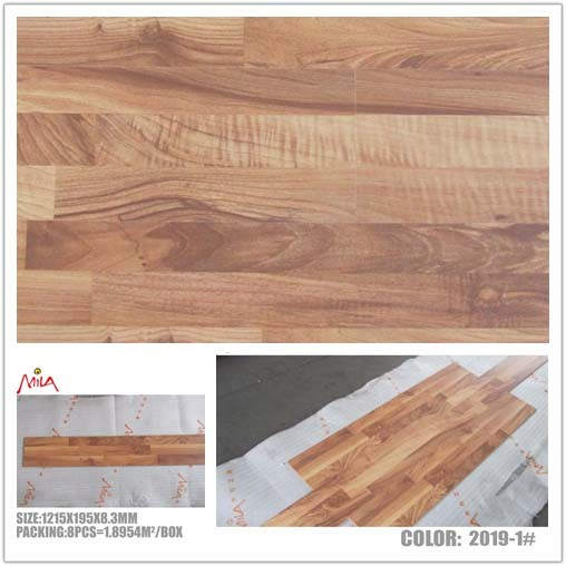 China high quality 8mm wooden laminate flooring ac4 2019 for High quality laminate flooring