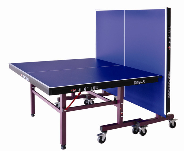 China single folding table tennis table for international for Table tennis 99