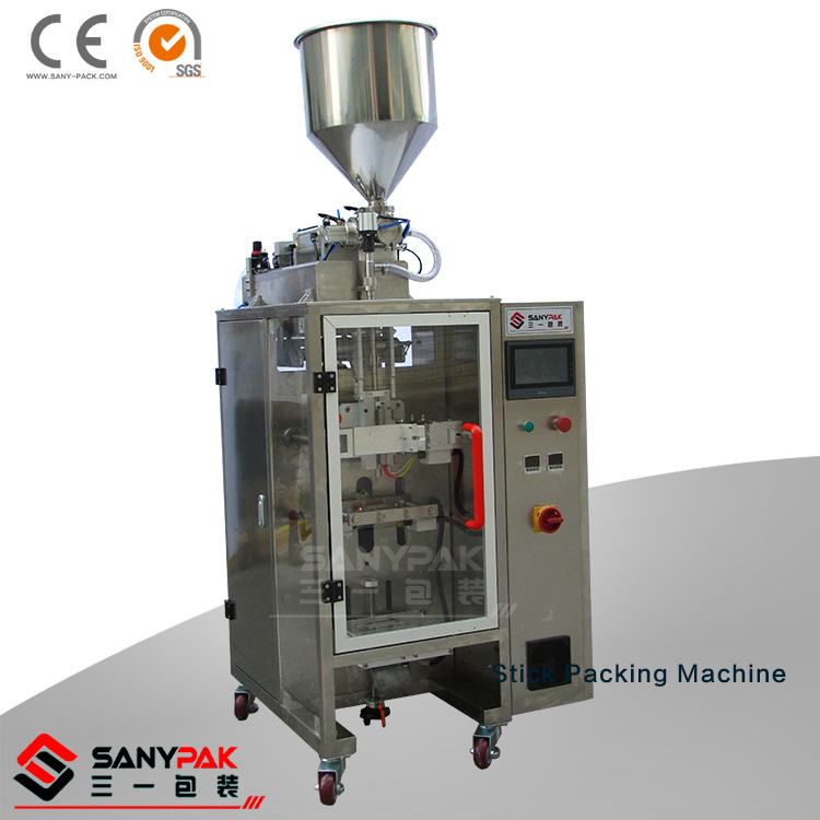 Liquid/Powder/Granule Narrow Pouch/Sachet Stick Making Machine