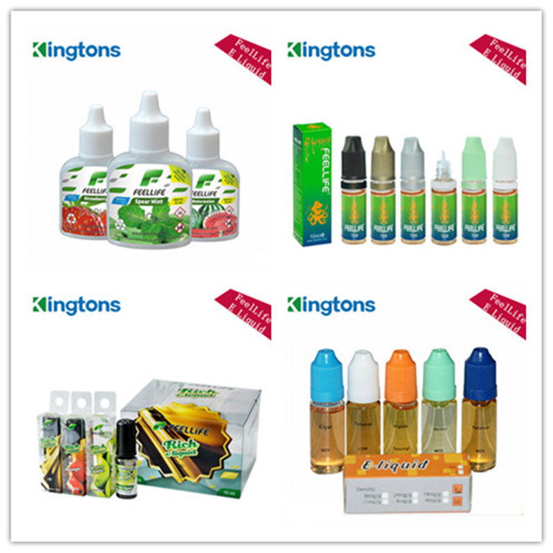 Various Flavors E Liquid with Different Capacity Bottles