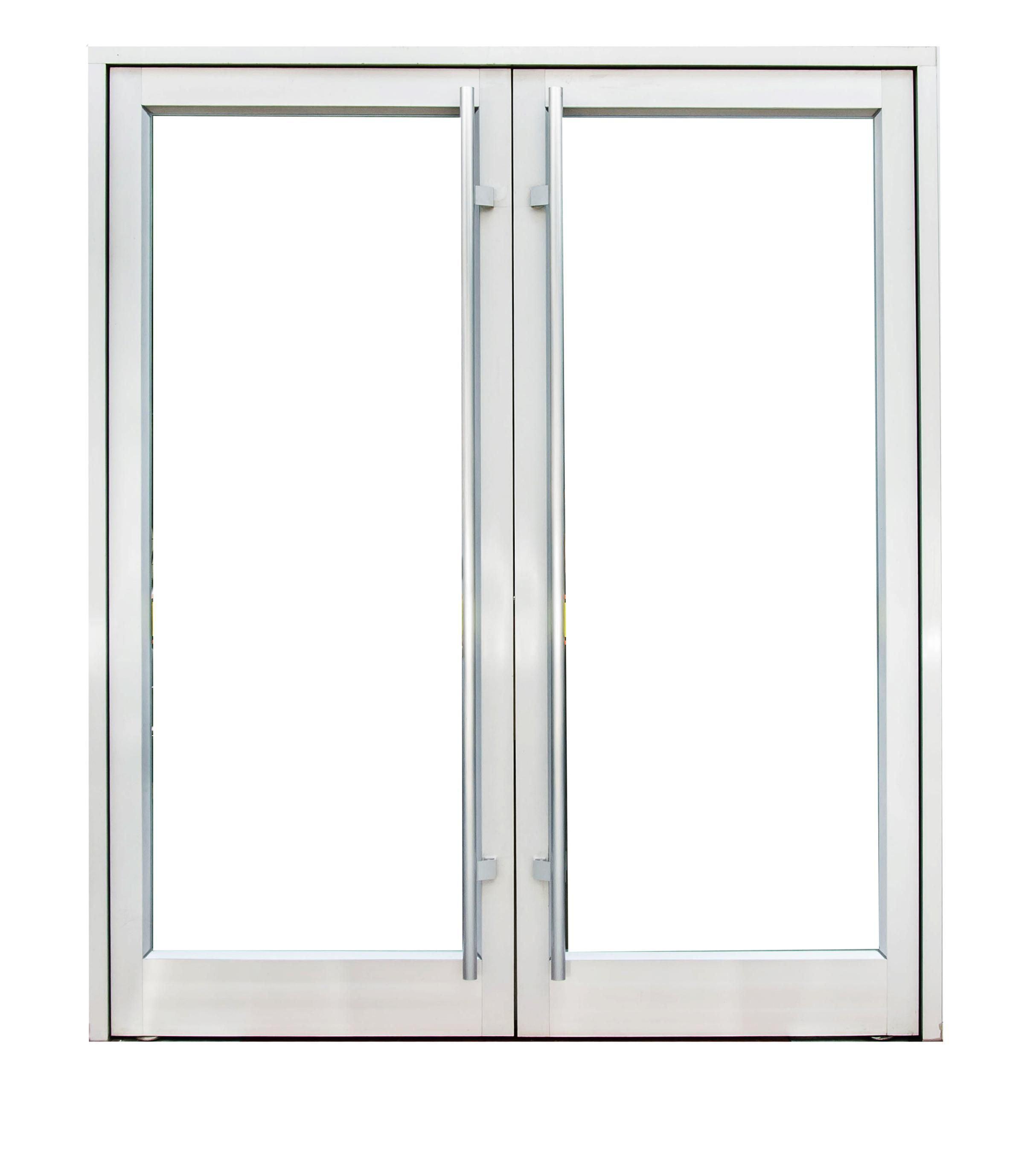 New Design Exterior Outdoor Swing Spring Aluminum Glass Doors