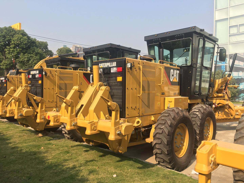 100% New Original Caterpillar 140K Road Motor Grader with Ripper 3 Units Stock