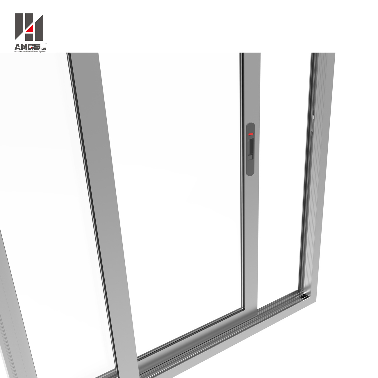 Aluminum Sliding Window for Shopping Mall, Office and Hotel