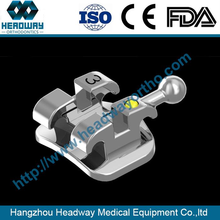 Orthodontic Bracket, Bondable Bracket Braces with Ce FDA ISO