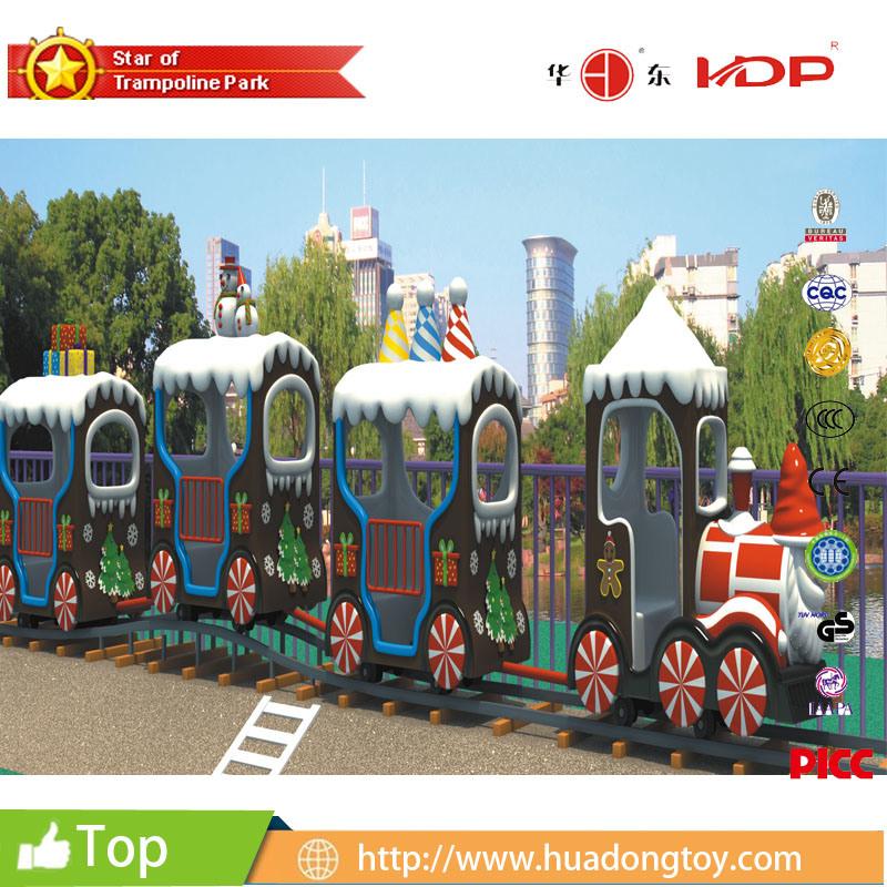 Children Amusement Park Equipment Electric Train Rider Christmas Electric Train