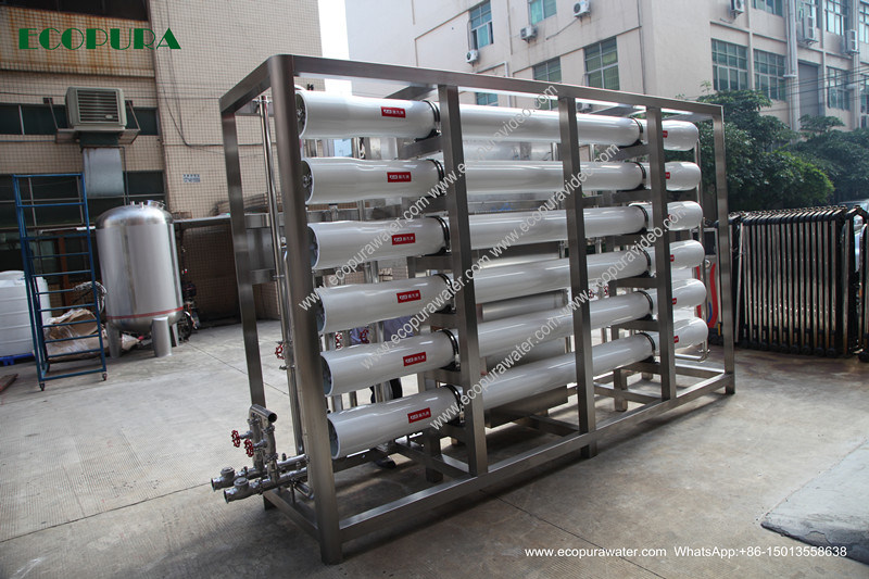Reverse Osmosis Drinking Water Treatment Machine 700L/H with Softener