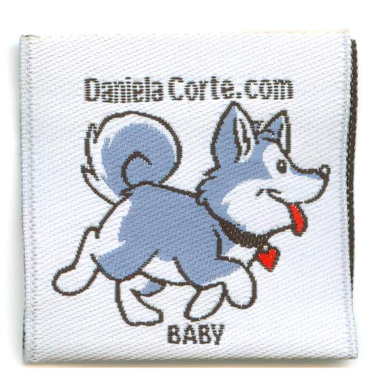 Woven Clothing Labels Garment Tags for Kids
