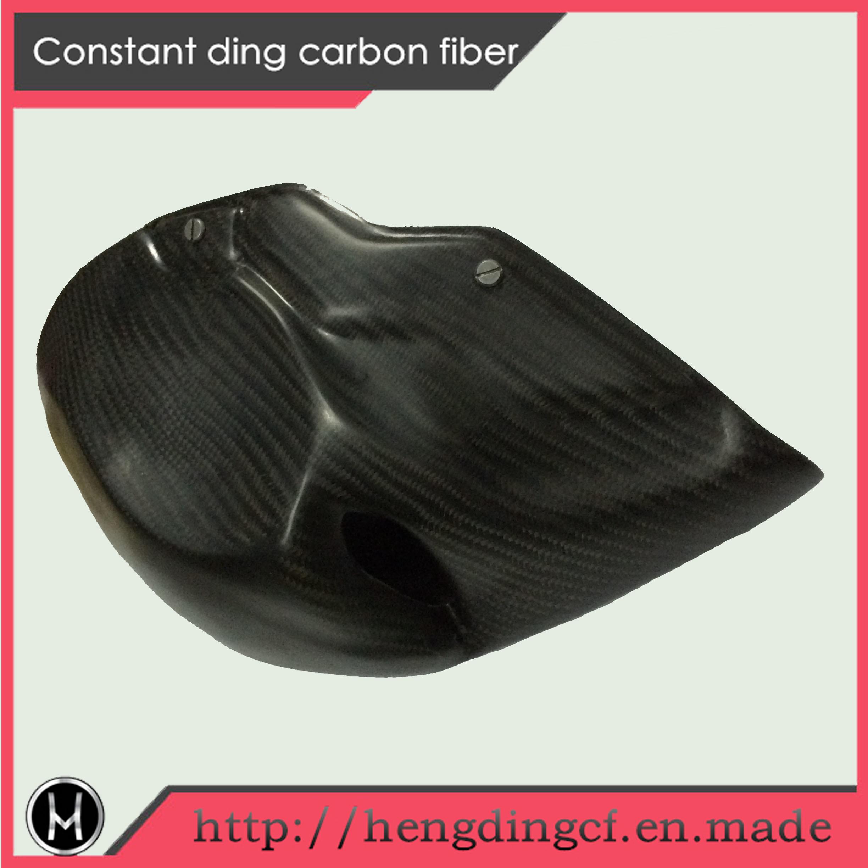 Black Carbon Fiber Helmet