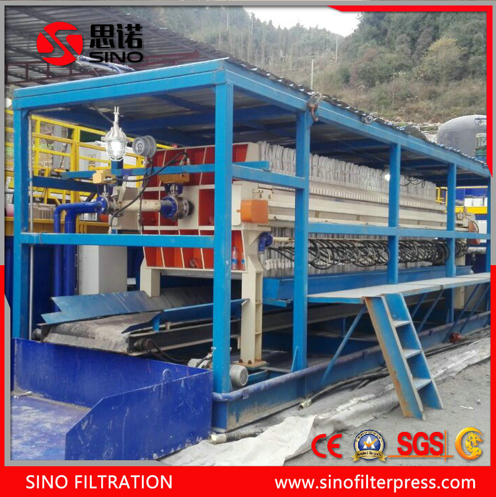 Auto Plate Frame Filter Press with Belt Conveyor