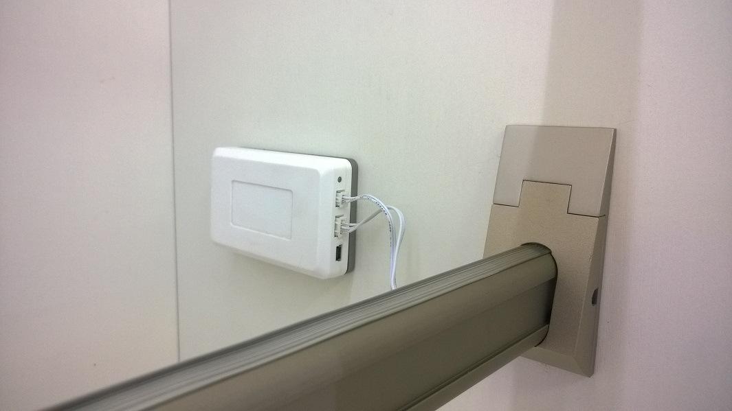 Sensor LED Inner Wardrobe Light for Hanging Rod with Battery