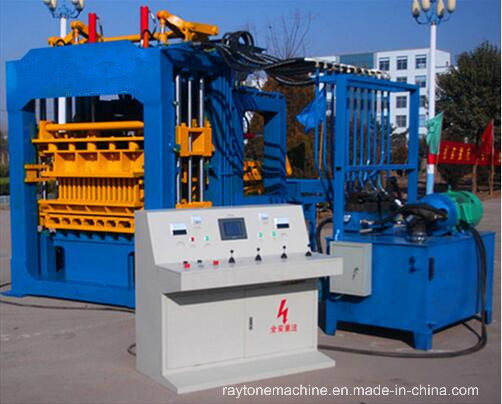 Qt4-15D Automatic Hollow Block Making Machine Concrete Paver Brick Machine