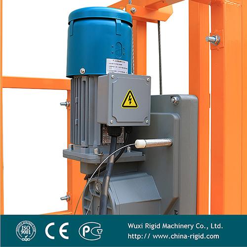 Zlp500 Hot Galvanization Steel Screw Type End Stirrup Hanging Work Platform