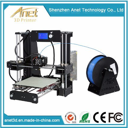 2017 Anet 3D Printer Kit for jewelry ABS Filament with Printer Parts and Accessories for Kids Ce Vertification