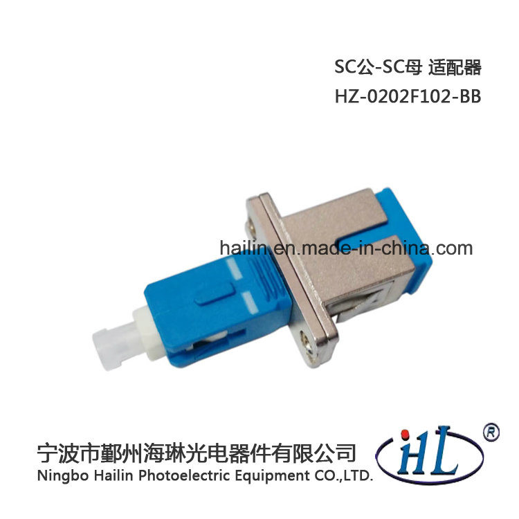 Fiber-Optical Sc/Male-Sc/Female Fiber Optic Adaptor