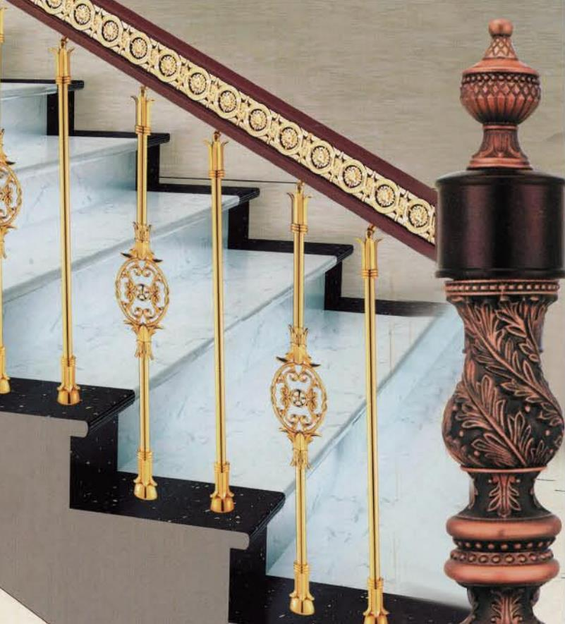 Classic High-End Design Hotel Villa Staircase General Column