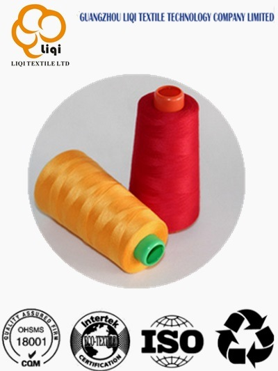 Hot-Selling 100% Polyester Spun Yarn Polyester Sewing Yarn 40s/2