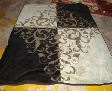 Acrylic Printed Blanket / Raschel Throw