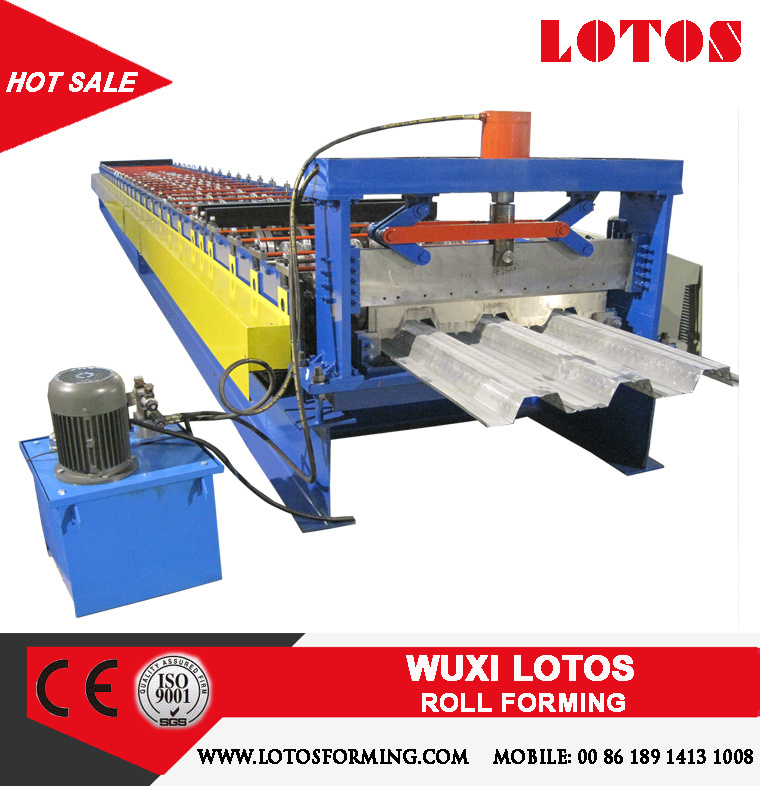 Lotos Deck Floor Roll Forming Machine
