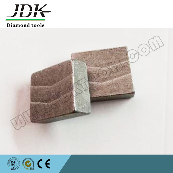 Grooved Type Diamond Tool Segment for Cutting Spanish Granite