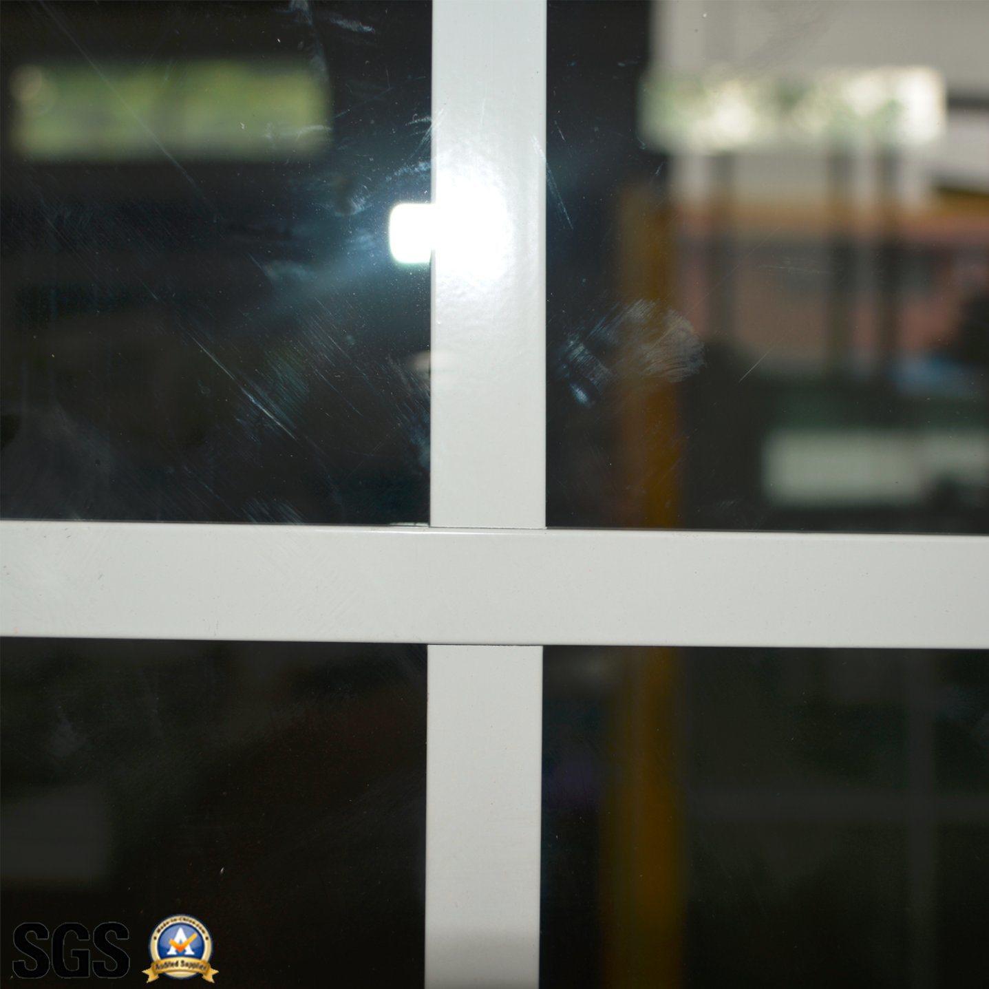 Powder Coated Aluminium Sliding Window with Grid/Aluminum Sliding Window K01007