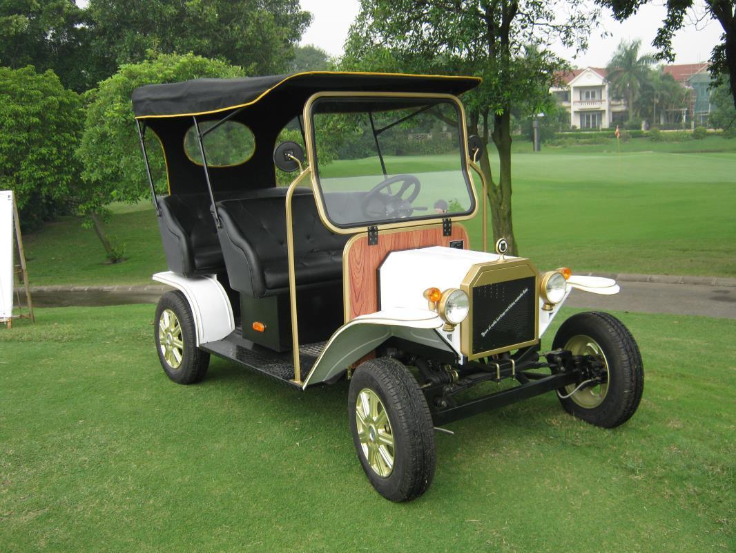 Unique Design Popular AC Motor 5kw Golf Classic Electric Buggy Vehicle