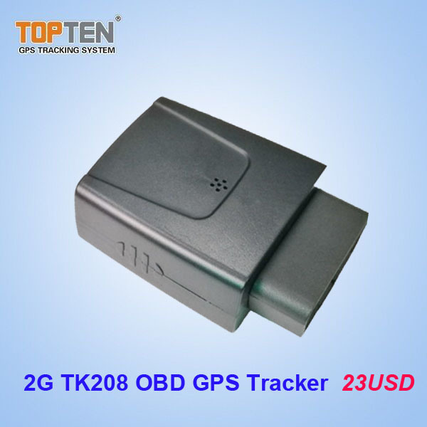 2g OBD Vehicle GPS Tracker with Smart Engine on off Detection Tk208 2g (EZ)