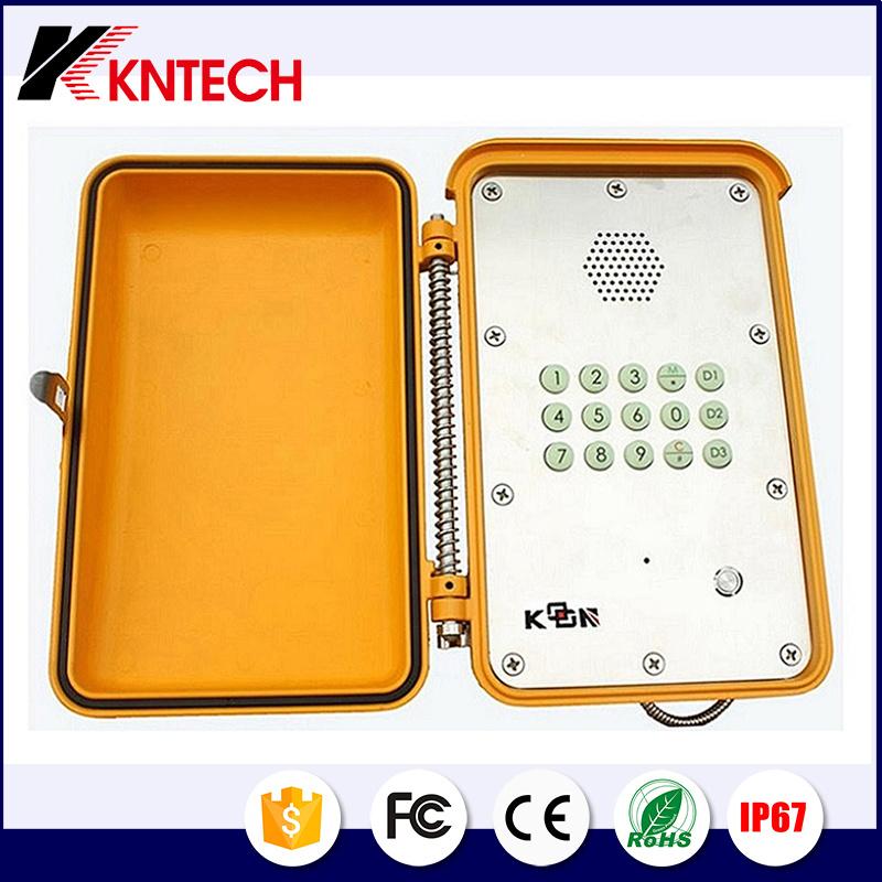 Dust Proof Telephone Weatherproof Emergency Hands Free Phone Knsp-13