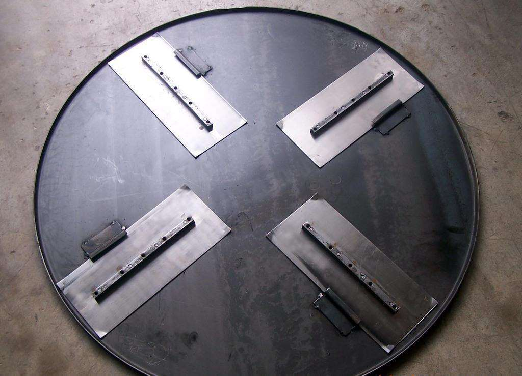 Float Pan for Power Trowel, Power Trowel Blade