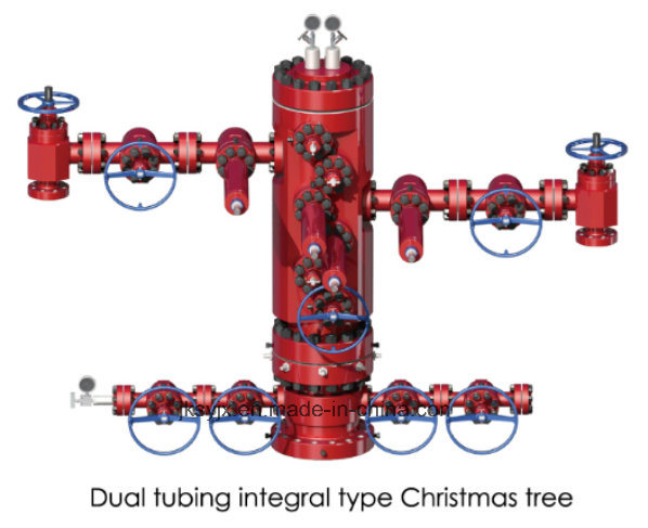 API 6A Integral Christmas Tree for Oil Field