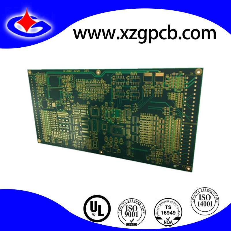 HDI 6-Layer Tg180 Fr4 Circuit Board for Computer Mainboard PCB