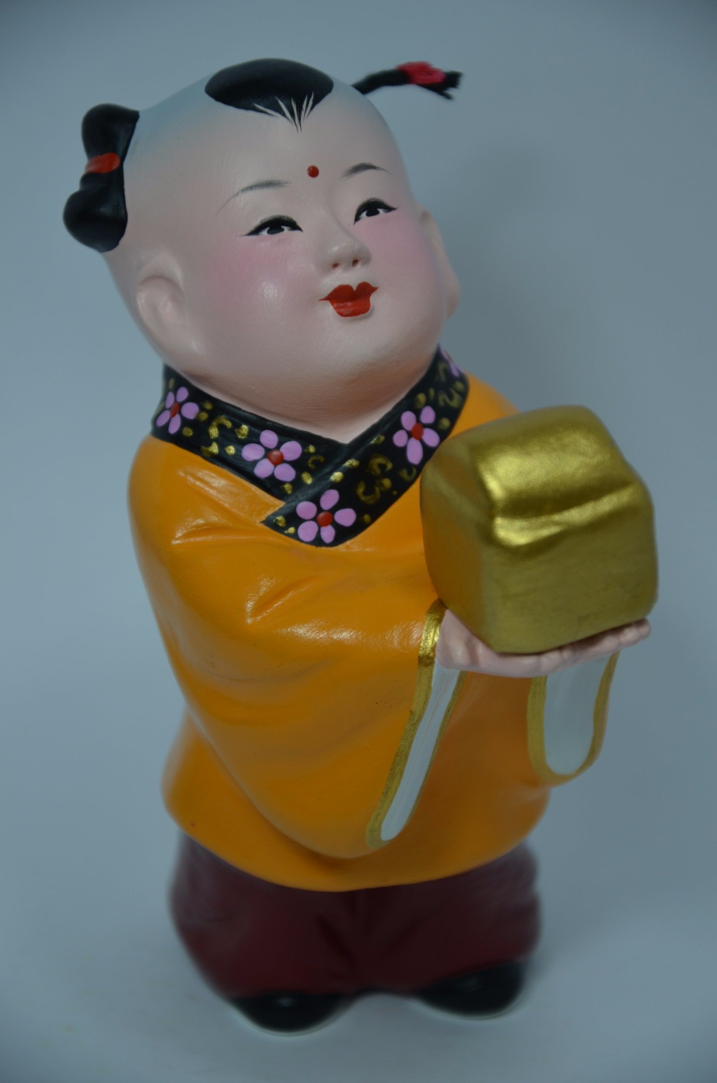 Beautiful Chinese Culture Baby Clay