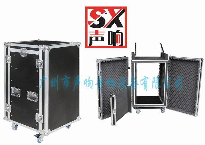 China Flight Case AMP Rack with Mixer Laptop