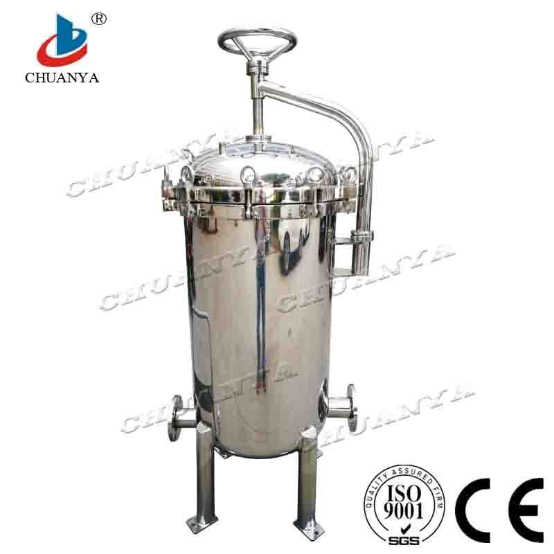 Processing Filter Equipment High Flow Rate Stainless Steel Water Filter Machine