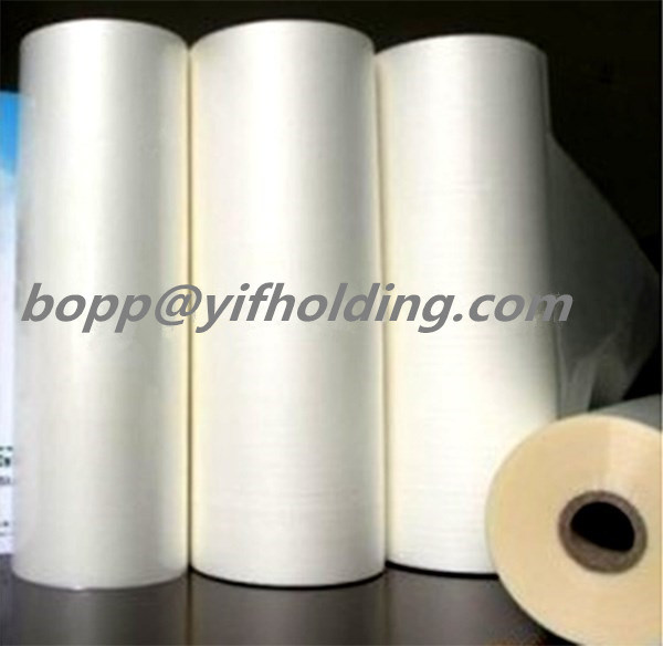 BOPP Pearlized/White Film for Book Covering 68mic