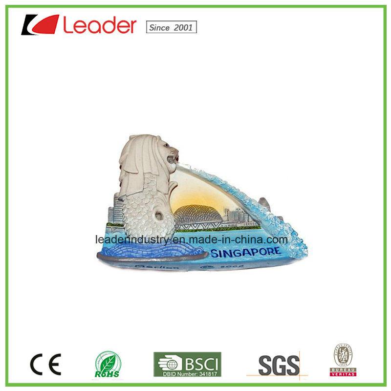 Polyresin Souvenir Gift London Building 3D Fridge Magnet for Home Decoration