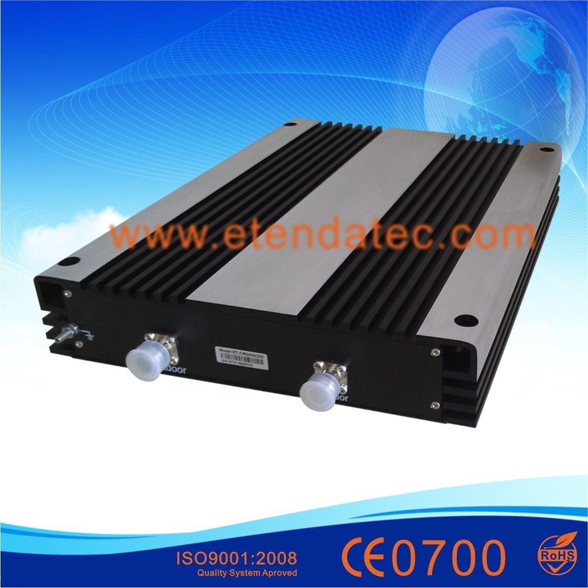 30dBm 85dB GSM/Dcs/WCDMA 2g 3G Mobile Signal Repeater