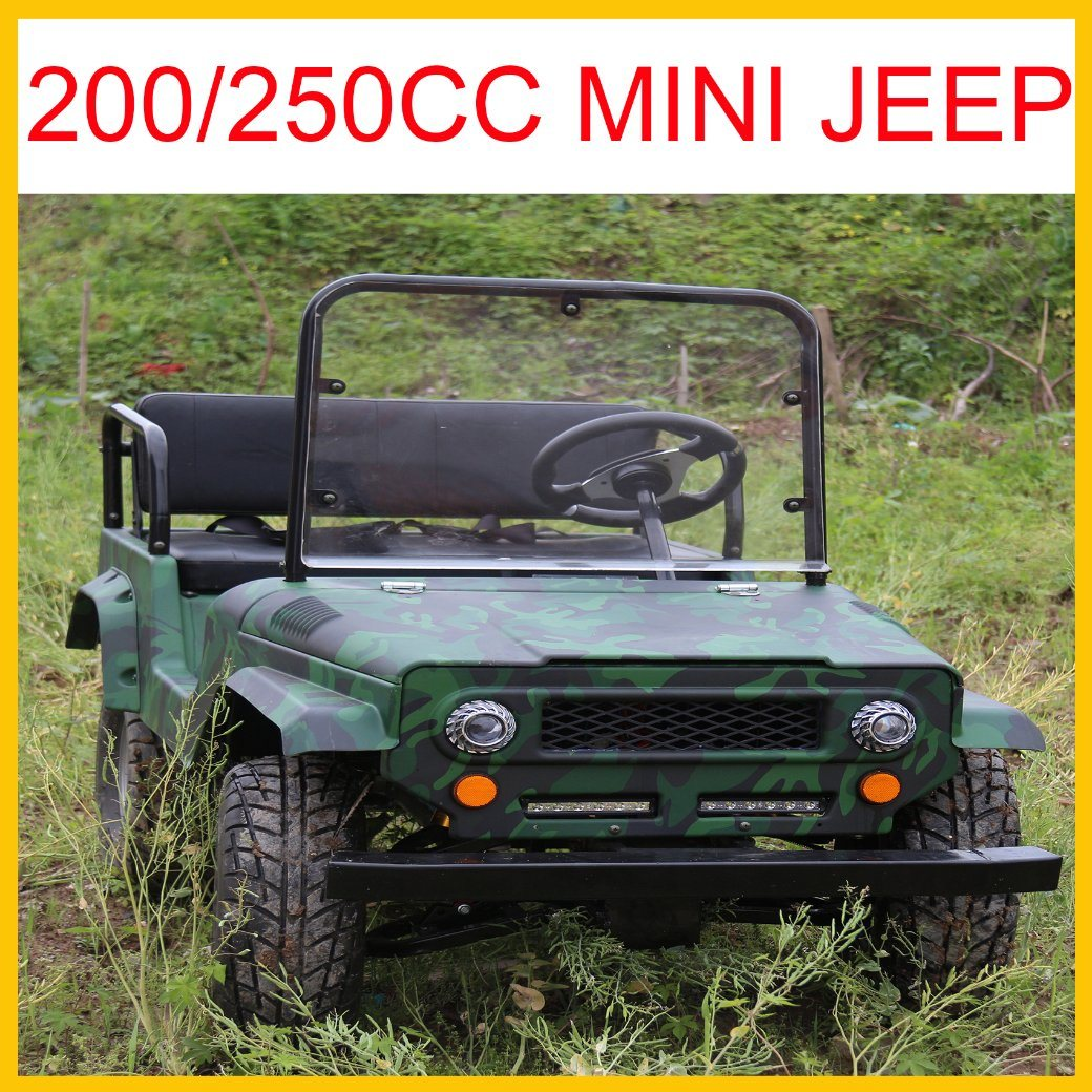 2017 New Adult Size Mini Jeep Willys Available on 150cc 200cc and 250cc Gy6 Engine