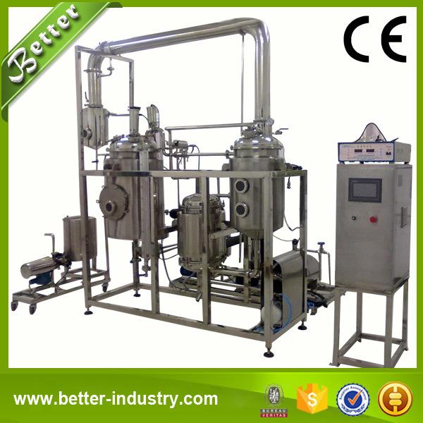 Hot Reflux Solvent Herbal Evaporator Extraction Equipment
