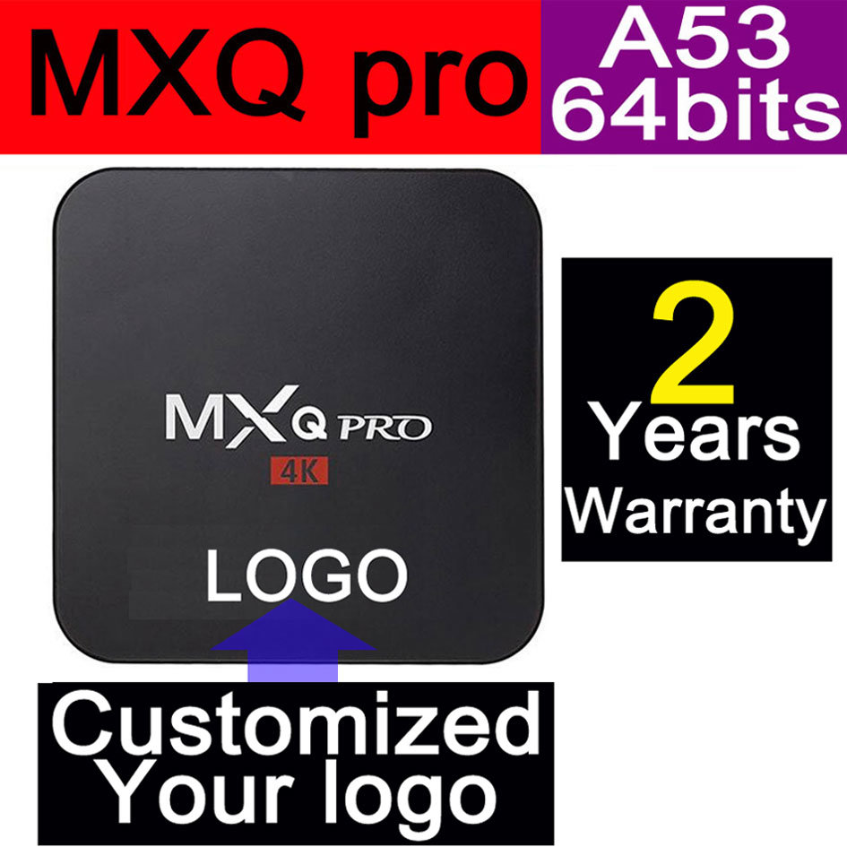 Custom Made Smart Streaming Android5.1/6.0 Marshmallow TV Box S905/S905X Quad Core Mxqpro