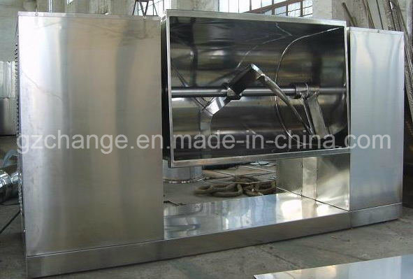 GMP Standard Horizontal Ribbon Blender Mixer for Pharmacy Food Lines