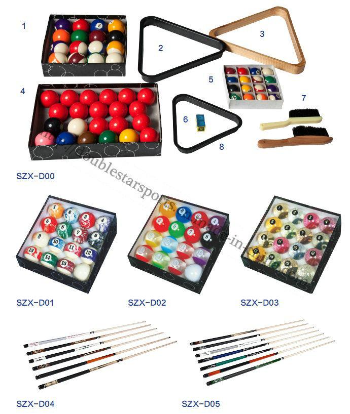 Cheapest Price Double Star Billiard Table Billiard for Sale