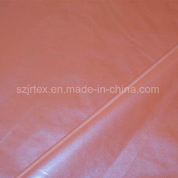 Waterproof Polyester Pongee Chemical Fabric with Pearly Coating