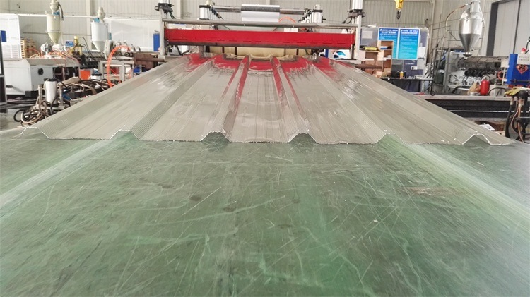 Polycarboante Sheet Multiwall Corrugated Sheet