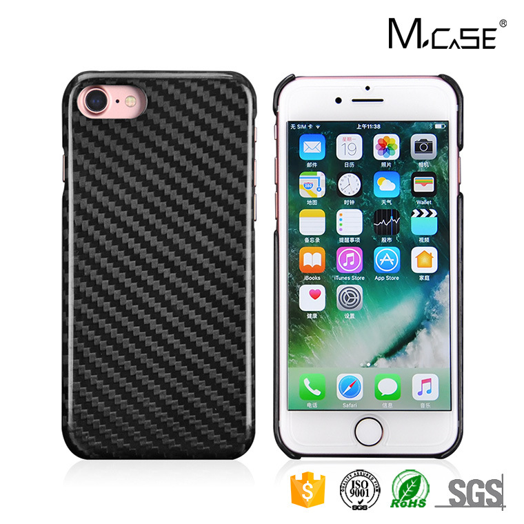 Newst Arrival Carbon Fiber Phone Accessories Mobile Phone Case for iPhone 7