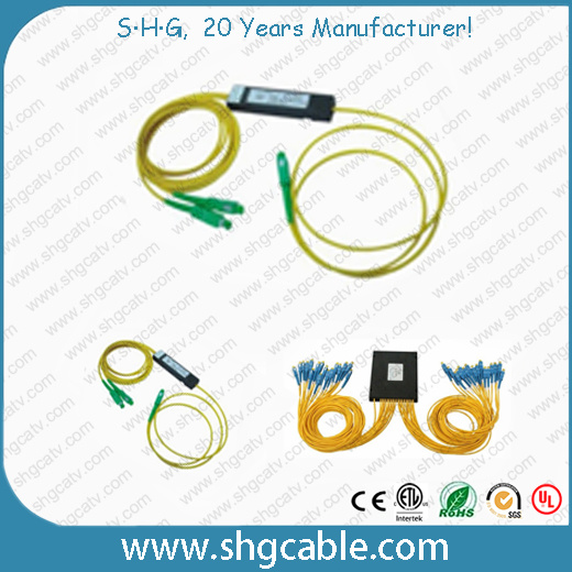 Foc Series Optical Fiber Fused-Tapered Splitter with Sc/APC Connector