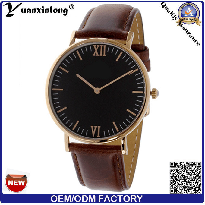 Yxl-035 Promotion Genuine Leather Women Watch Ladies Dress Wrist Watch Custom Design Hand Quartz Watch