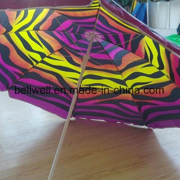 Outdoor Beach Umbrella Colourful Sun Umbrella