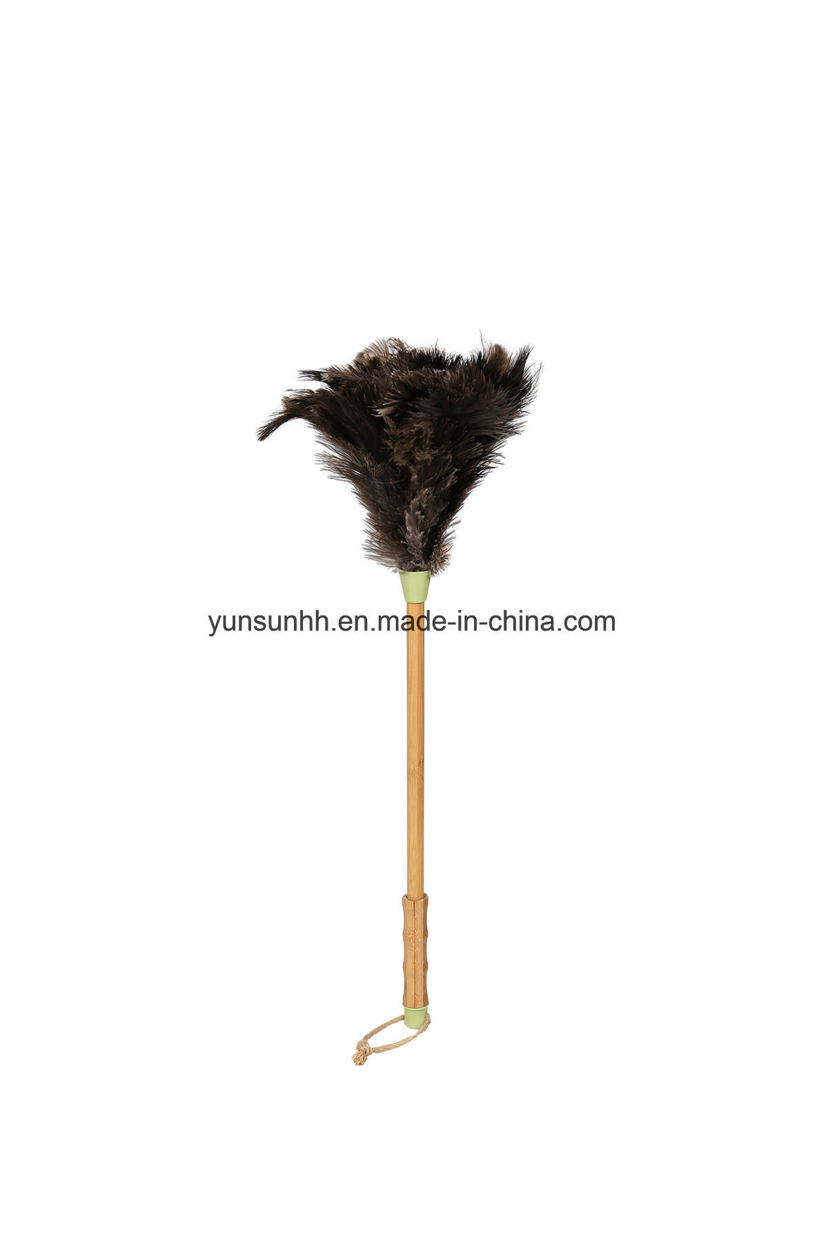 Ostrich Feather Duster with Bamboo Handle